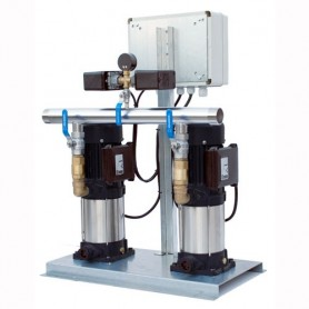 Grupo de presión doble automático 2x1,8 Cv Trifasico