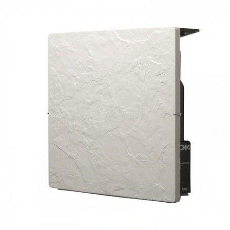 Radiador Electrico Climastar Avant Touch Pizarra Nieve Cuadrado