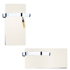 Toallero Radiador eléctrico Climastar Blanco Silicio Slim Timer 250W