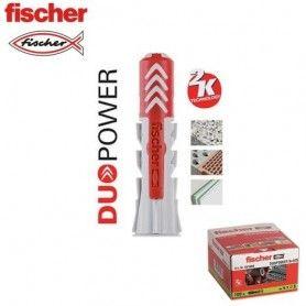 Taco DuoPower 8x40 Fischer (100 Unids.)