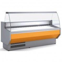 Vitrina Expositora Refrigerada Cristal Curvo Docriluc VED-8-10