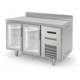 Mesa fría SNACK refrigeración Gama Speed Puerta de Cristal largo 1,5 Metros Docriluc
