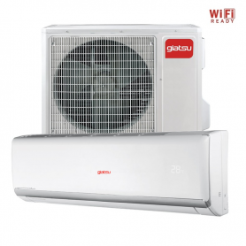 Aire acondicionado Split Inverter Giatsu 3000 frig/h bomba calor LC6