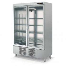 Armario SNACK refrigeración Speed Doble Cristal - largo 1,35 Metros Docriluc