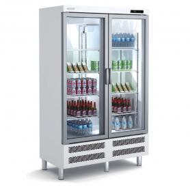 Expositor refrigeración ARPA-125 Puertas abatibles - largo 1,25 Metros Docriluc