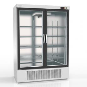 Expositor refrigeración DEBR-1302 Apertura reversible - largo 1,37 metros Blanco Docriluc