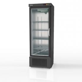 Expositor refrigeración DEBC-751 Apertura reversible - largo 0,68 metros Negro Docriluc