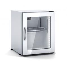 Expositor refrigeración de bebidas sobre mostrador DEC-3 Blanco Docriluc