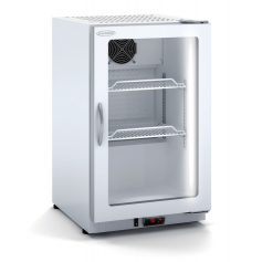 Expositor refrigerado de bebidas sobre mostrador DEC-400 Blanco Docriluc