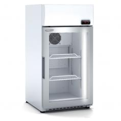 Expositor refrigerado de bebidas sobre mostrador DECCM-450 Blanco Docriluc
