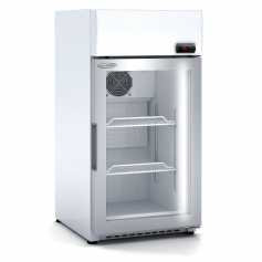 Expositor refrigerado de bebidas sobre mostrador DECCM-450-SZ Blanco Docriluc