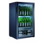 Expositor refrigerado de bebidas sobre mostrador EXPO TN 110 Negro Fred
