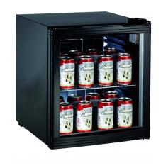 Expositor refrigerado de bebidas sobre mostrador MINIEXPO TN 52 Negro Fred