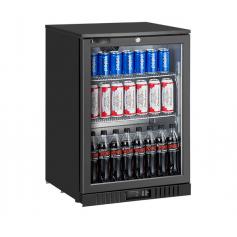 Expositor refrigerado de bebidas sobre mostrador EXPOBEER 140 TN Negro Fred