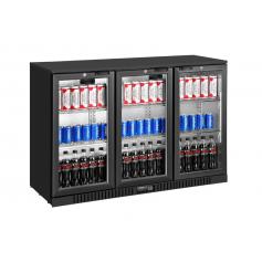 Expositor refrigerado de bebidas sobre mostrador EXPOBEER 332 TN Negro Fred