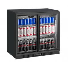 Expositor refrigerado de bebidas sobre mostrador EXPOBEER 212 PC Negro Fred