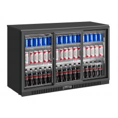Expositor refrigerado de bebidas sobre mostrador EXPOBEER 332 PC Negro Fred