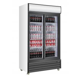 Armario expositor refrigerado de bebidas puertas corredera EXPO 1000 TN PC Fred