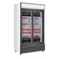 Armario expositor refrigerado de bebidas puertas corredera EXPO 940 TN PC Fred