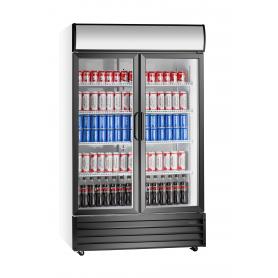 Armario expositor refrigerado de bebidas puertas abatibles EXPO 1120 TN Fred