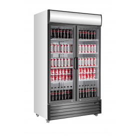 Armario expositor refrigerado de bebidas puertas abatibles EXPO 1130 TN Fred