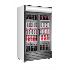 Armario expositor refrigerado de bebidas puertas abatibles EXPO 1330 TN Fred