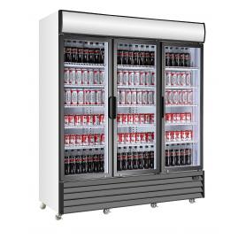 Armario expositor refrigerado de bebidas puertas abatibles EXPO 2000 TN Fred