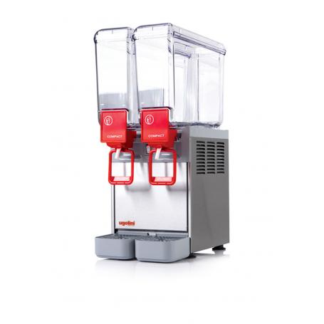 Distribuidor de bebidas frías 8 litros COMPACT 8/2 Ugolini
