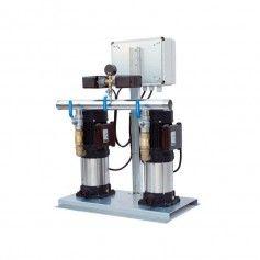 Grupo de presión doble automático 2x2 Cv Monofasico
