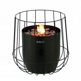 Fuego de sobremesa a gas Cosiscoop Basket Negro