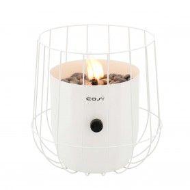 Fuego de sobremesa a gas Cosiscoop Basket Marfil