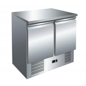 Mesa fría GN1/1 2 Puertas Refrigerada Compacta de 900 x700 x860h mm PEKIN