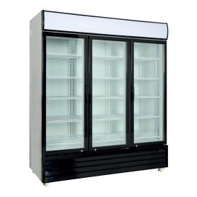 Armario expositor refrigerado de 1600 litros 3 Puertas Batientes de Vidrio PEKIN