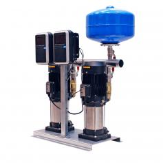 Grupo de presión doble con variador de frecuencia iSMARTVAR 2x1,5 Cv Monofasico