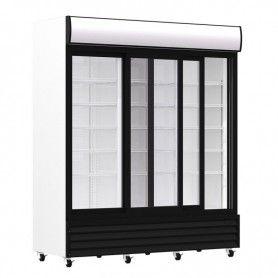 Armario Expositor Refrigerado 1600 litros 3 Puertas Deslizantes de Vidrio PEKIN