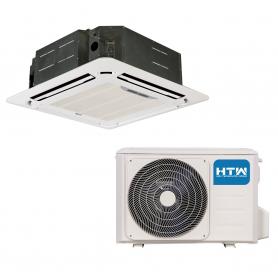 Aire acondicionado Cassette HTW 4500 frig/h bomba calor IX43-R32