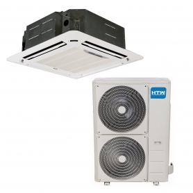 Aire acondicionado Cassette HTW 13700 frig/h bomba calor IX43-R32 Trifasica