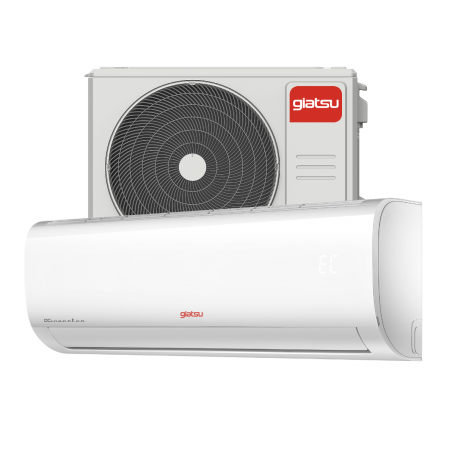 Aire acondicionado Split Inverter GIATSU 3000 frig/h bomba calor AROMA 2